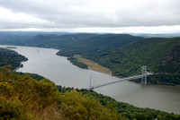 View of Hudson River and Bear Mtn Bridge from Bear Mtn