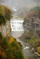 Letchworth Park - Middle and Upper Falls
