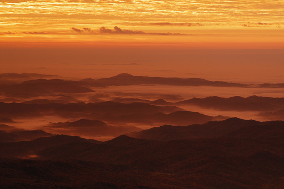 Sunrise from Grandfather Mountain