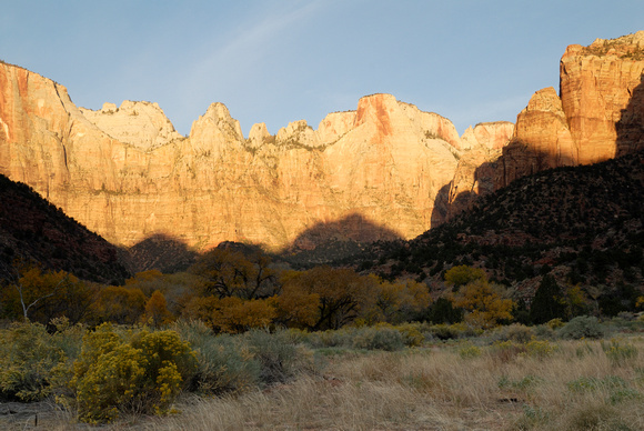 Sunrise at Towers of the Virgin - Zion